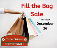 fill the bag sale